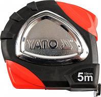 Рулетка строительная (измерительная) 19мм х 5м YATO YT-7117