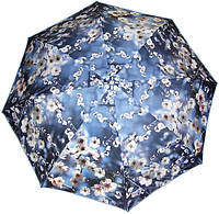 Женский полуавтоматический зонт с ярким оригинальным рисунком ZEST Z246655-73 Антиветер!