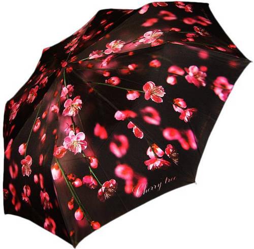Современный женский зонт, полный автомат ZEST (ЗЕСТ) Z23744-8063 Антиветер