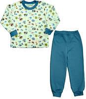 Пижама для мальчика 116 Бежевый