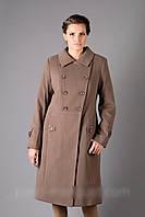 Женское зимнее пальто - кашемир