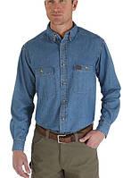 Джинсовая рубашка Wrangler Work Shirt - Antique