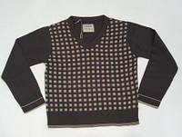 Пуловер для мальчика с узором