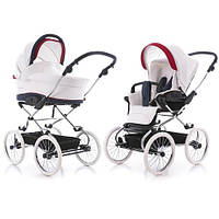 """Универсальная детская коляска 2 в 1 Navington Caravel 14"""" (белые колеса) Все цвета"""