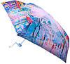 Женский облегченный зонт, компактный, механический ZEST (ЗЕСТ) Z255155-52