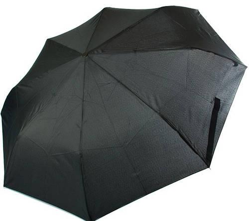 Стильный зонт для мужчин, полный автомат RAINY DAYS (РЕЙНИ ДЕЙС) U76851-black Антиветер