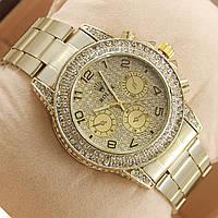 Часы Rolex Full Diamonds кварцевые с арабскими буквами