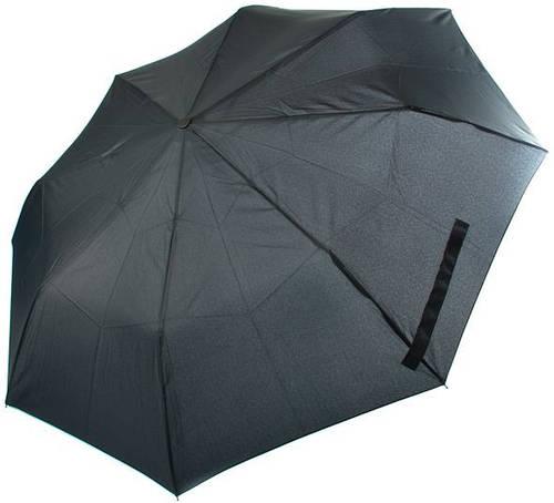 Удобный и качественный зонт, полуавтомат RAINY DAYS (РЕЙНИ ДЕЙС) U72267-black Антиветер