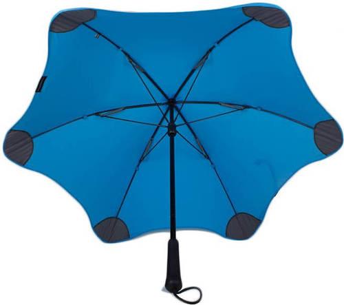 Механический, противоштормовой зонт-трость BLUNT (БЛАНТ) Bl-lite-2-blue