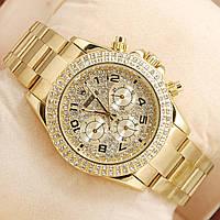 Часы Rolex Daytona Diamonds Gold механика с автоподзаводом