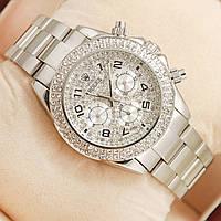 Часы Rolex Daytona Diamonds Silver механика с автоподзаводом