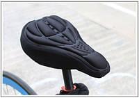 3D Чехол с гелем на седло до 270*170, силиконовый