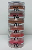 Пирамидка помад и блесков  для губ (6 оттенков) Cinecitta