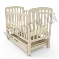 Детские деревянные кроватки Woodman на шарнирах Teddy