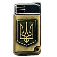 Зажигалка  Герб Украины Трезубец