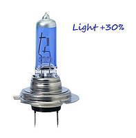 Лампочка автомобильная H7 12V55W (PX26D) White Plasma  1шт
