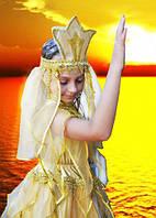 Карнавальный маскарадный детский сказочный костюм Золотая рыбка