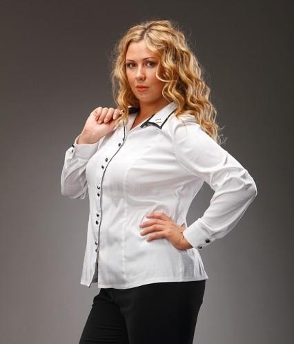 Офисная блузка большого размера в Волгограде