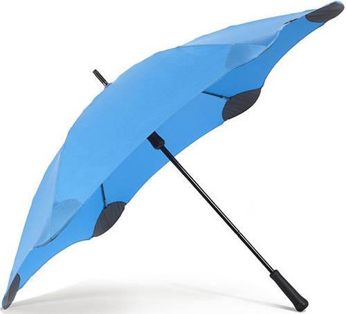 Противоштормовой зонт-трость с большим куполом механический BLUNT (БЛАНТ) Bl-classic-blue