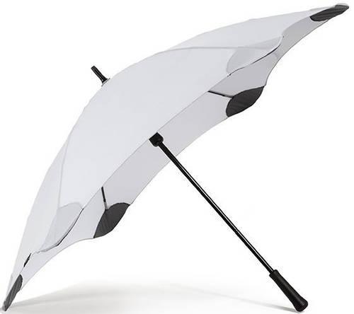 Противоштормовой зонт-трость с большим куполом механический BLUNT (БЛАНТ) Bl-classic-grey