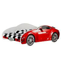Детская кровать машина красная AUTO S-CAR Baby Boo 10203