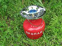 Туристическая газовая плита с пропановым балоном на 5 литров