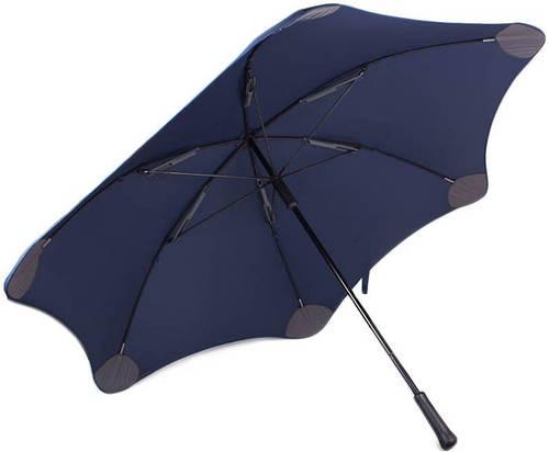 Противоштормовой зонт-трость с большим куполом механический BLUNT (БЛАНТ)  Bl-xl-2-navy