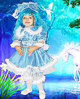 Маскарадные карнавальные сказочные костюмы Кукла Мальвина