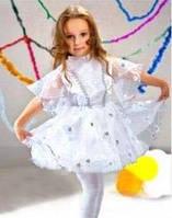 Карнавальные новогодние костюмы детские Снежинка 2