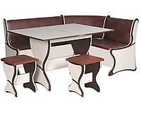 Кухонный уголок+раскладной стол+табуреты Аргентина (Компанит)
