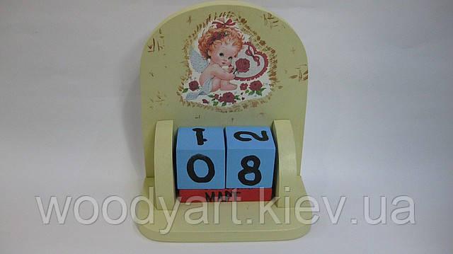 Кубик календарь у своими руками