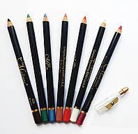 Стойкий карандаш для губ и глаз Miss Madonna (Мисс Мадонна) с точилкой