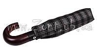 Мужской зонт Три Слона Ручка крюк дерево, купол 116 см (полный автомат), арт.501-16