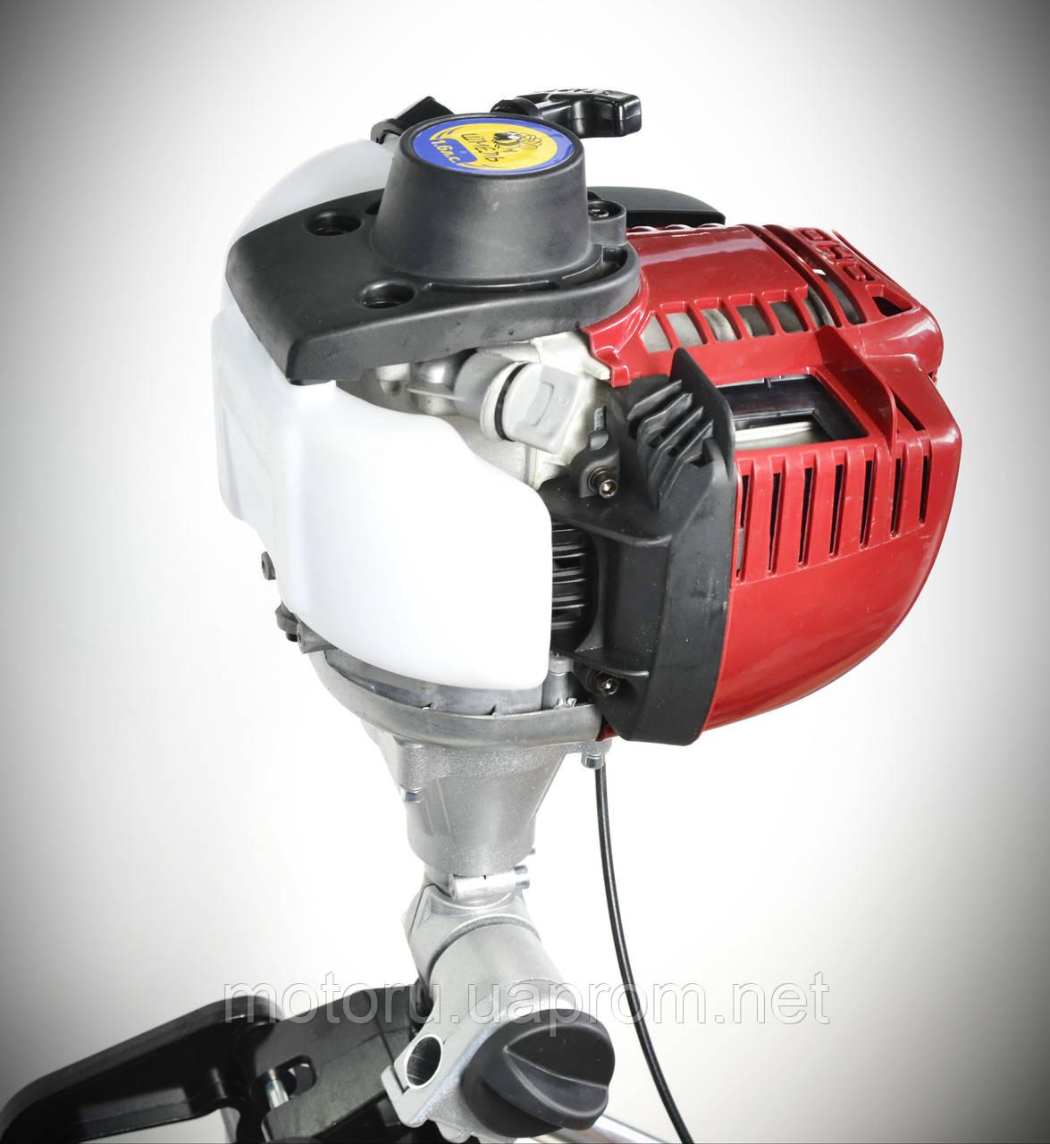 редуктор на лодочный мотор шмель