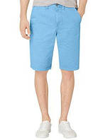 Голубые  шорты Calvin Klein