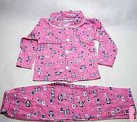 Пижама детская с начесом для девочек