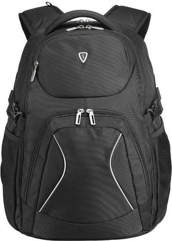 """Рюкзак молодежный с отделом для ноутбука 17"""" Sumdex PON-379BK черный"""