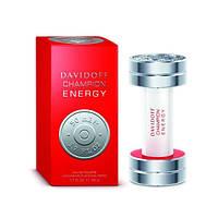 Мужская туалетная вода Davidoff Champion Energy (Давидов Чемпион Энерджи) пряный, фужерный аромат AAT
