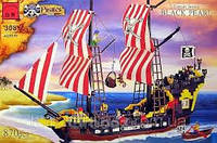"""Детский конструктор """"Черная Жемчужина"""" из серии Pirates (Пираты) 308 870дет."""