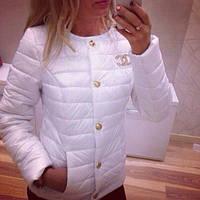 Стильная куртка Шанель В НАЛИЧИИ!! 7 РАСЦВЕТОК!!!!  ткоб132