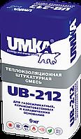 Легкая изоляционная штукатурная смесь UMKA UB-212 умка