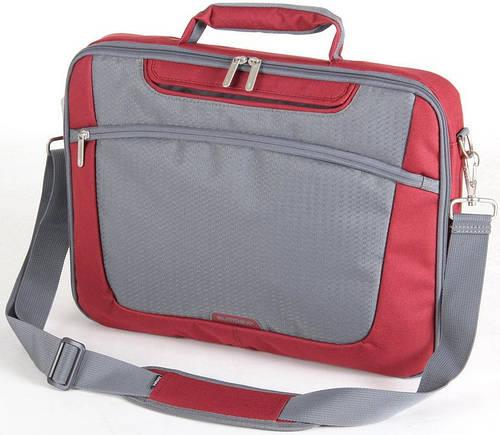 """Сумка для ноутбука от 15,4"""" доя 16"""" Sumdex Passage PON-301RD красный с серым"""