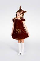 Детский карнавальный костюм Эконом «Белочка» рост 80-86