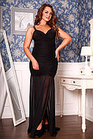 Вечернее черное платье Анна А3 Медини 46-48р