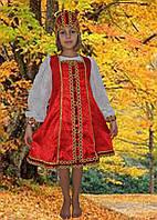 Карнавальные национальные детские костюмы русская красавица 2