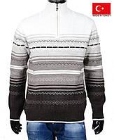 Теплый зимний свитер.Кофта теплая мужская.