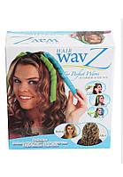 Волшебные спиральные бигуди Hair Wavz Хейр Вейвз для длинных волос 55 см купить в Украине
