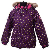 Куртка зимняя для девочек Gusti Boutique GWG 4619 - 1.  Размер 116.