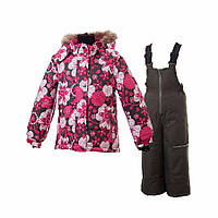Комбинезон зимний Gusti Boutique GWG 4621 Dark Pink. Размер 92, 122 и 128  .