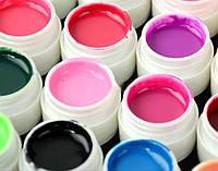Набор гель лаков, для дизайна ногтей, из 20 -ти шт., яркие цвета